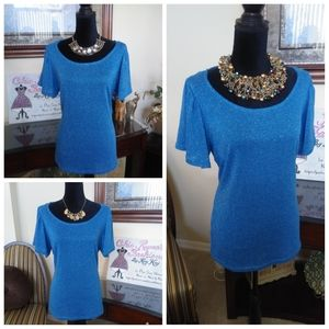 Sparkly Pull-Over Top